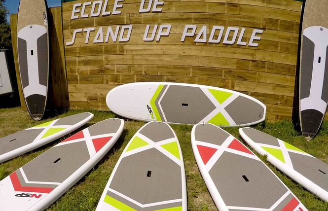 Ecole de Stand Up Paddleboard : Ty School 7 - Locmaria